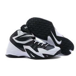 reputable site ec6da a837c Black and White Colors Mens Lebron Soldier 8 Nike Brand Basketball Shoes