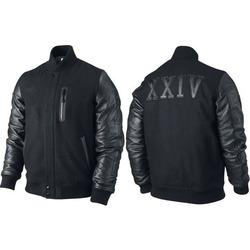 22b50728f1229a Michael B Jordan KOBE Destroyer XXIV Battle Leather Sleeves Jacket ...