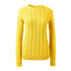 Kimmy Schmidt's Yellow Cable Knit Sweater on Unbreakable Kimmy ...