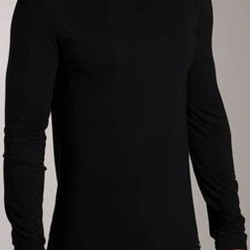 Micro T Long Top Crew U1139 Calvin Modal Sleeve Klein Neck Shirts EH2D9WI