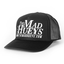 c1d9274dff7 The Mad Hueys Logo Trucker Hat in Blue
