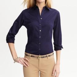 d638a535b1d Banana Republic Tailored Non-Iron Sateen Shirt