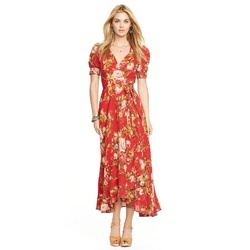 9d5b1ea91ea Riley Matthews  Red Floral Maxi Dress on Girl Meets World