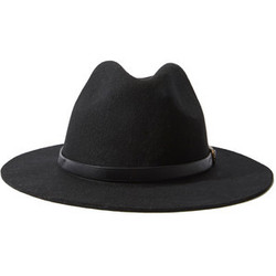 Forever 21 Faux Leather Band Fedora Hat  055c1cc8896