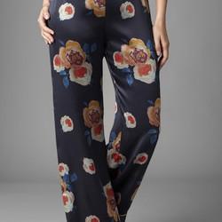 Sophia Graydon Luxury Floral Silk Pajama Pants Pradux