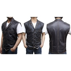 88861aa9f8daa Cullen Bohannon Hell on Wheels Real Leather Vest