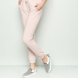 temperament shoes new varieties best Brandy Melville USA Rosa Sweatpants