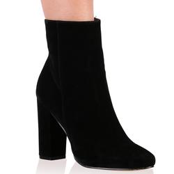 867f850b2 Public Desire PRESLEY ANKLE BOOTS IN BLACK FAUX SUEDE | Pradux